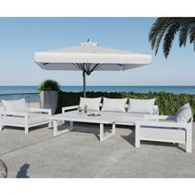 See Details - Renava Wake - Modern White Outdoor Sofa