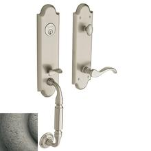 View Product - Distressed Antique Nickel Manchester Handleset
