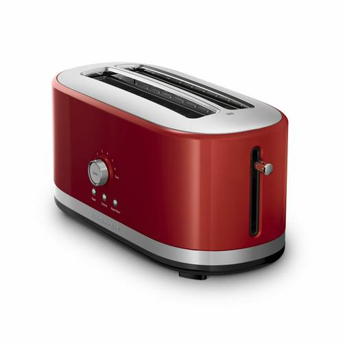 KitchenAid - 4-Slice Long Slot Toaster with High Lift Lever - Empire Red
