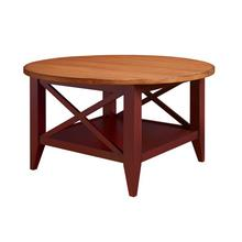 See Details - Round Coffee Table