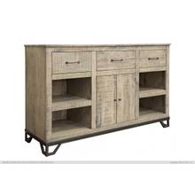 "3 Drawer & 2 Doors, 60"" TV Stand"