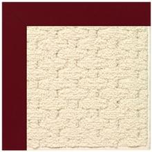 "Creative Concepts-Sugar Mtn. Canvas Burgundy - Rectangle - 24"" x 36"""