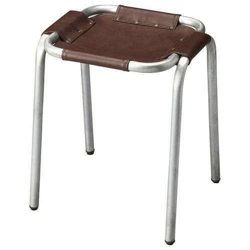 Butler Specialty Company - This versatile stool will stylishly enhance your space. Featuring an industrial chic aesthetic, it is hand crafted from canvas + zink finish.