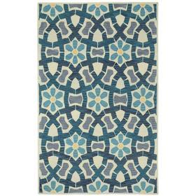 Garden Mosaic Beige Blue