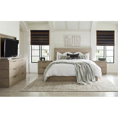 Milano by Rachael Ray Home Complete Panel Bed, King 6/6