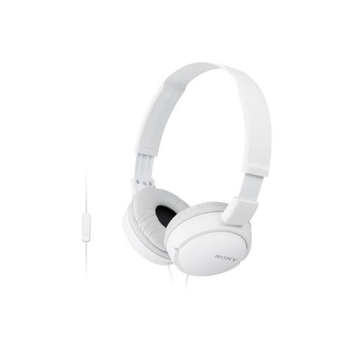 Gallery - Wired On-Ear Headphones with Microphone - White