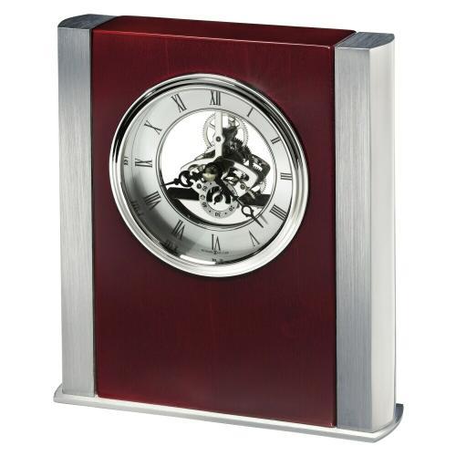 Howard Miller Grayson Silver Table Clock 645796