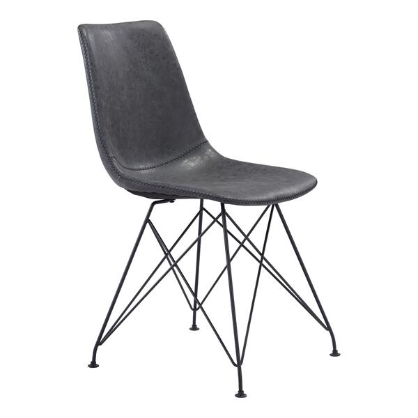See Details - Pelham Dining Chair Vintage Black