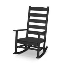 View Product - Shaker Porch Rocking Chair in Black