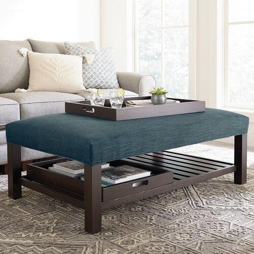 Bassett Furniture - Lori Ottoman w/Trays