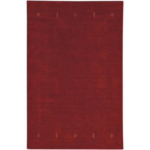 Simply Gabbeh Red Clay Hand Loomed Area Rugs