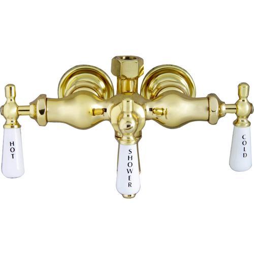 Tub Filler with Diverter - Tub Filler Only - Polished Brass
