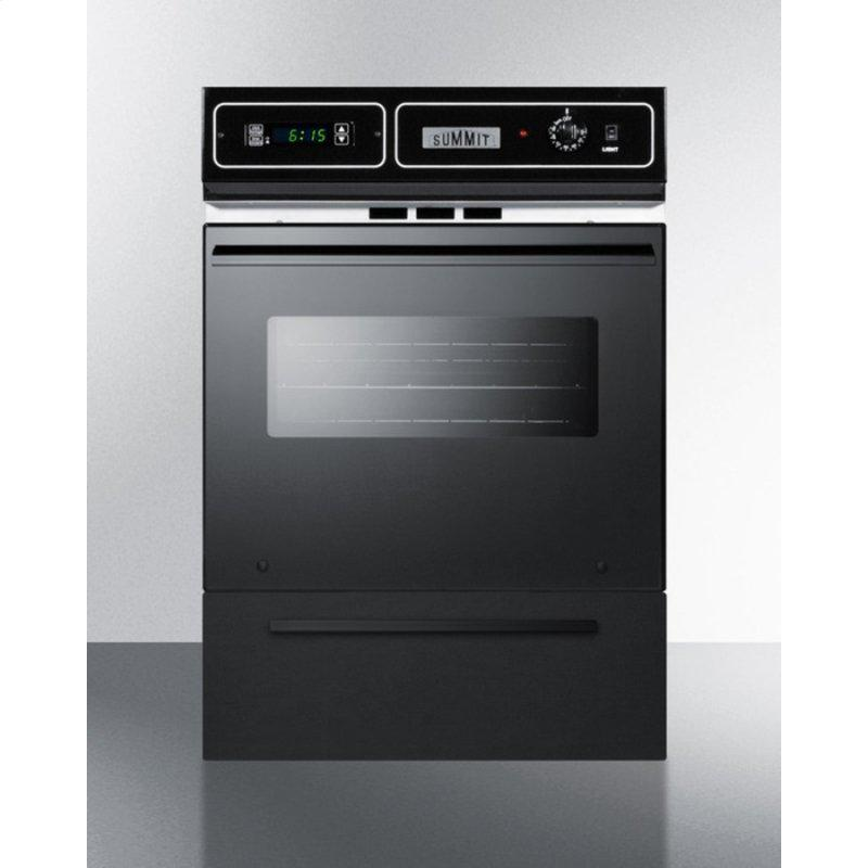 """24"""" Wide Gas Wall Oven"""