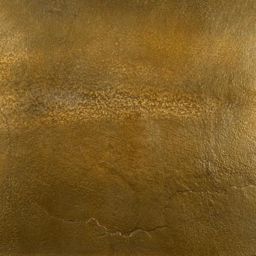 Ozur Hexagon Wall Planter-brass