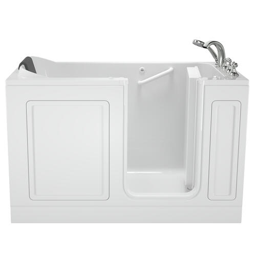 Acrylic Luxury Series 32x60 Air Bath Walk-in Tub with Tub Filler, Right Drain  American Standard - White