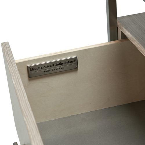 Amini - Storage Console-dresser W/ Mirror (2pc)
