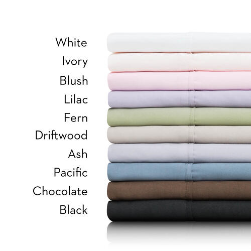 Brushed Microfiber Standard Pillowcases Chocolate