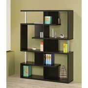 Transitional Black Bookcase Product Image