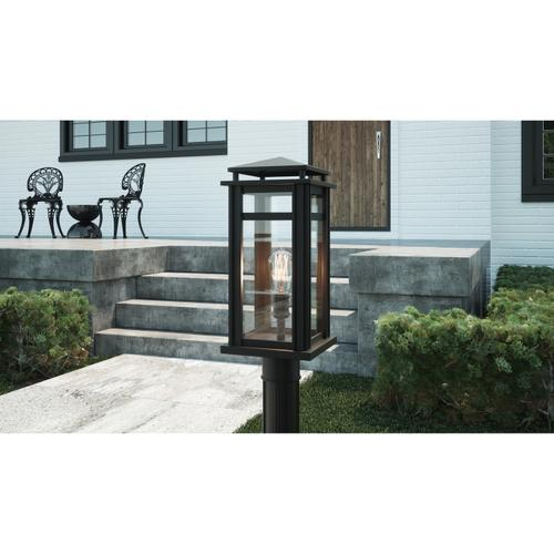 Quoizel - Granby Outdoor Lantern in Earth Black