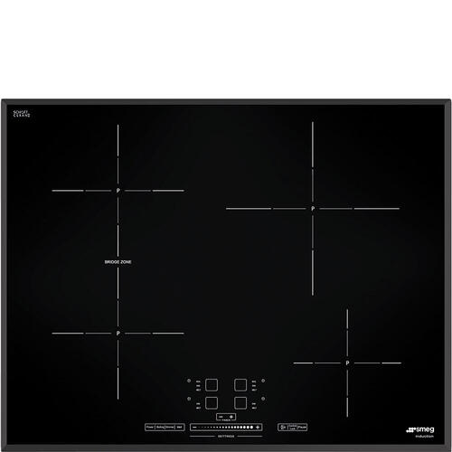 Smeg - Cooktop Black SIMU524B