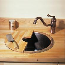See Details - Copper Veggie Sink