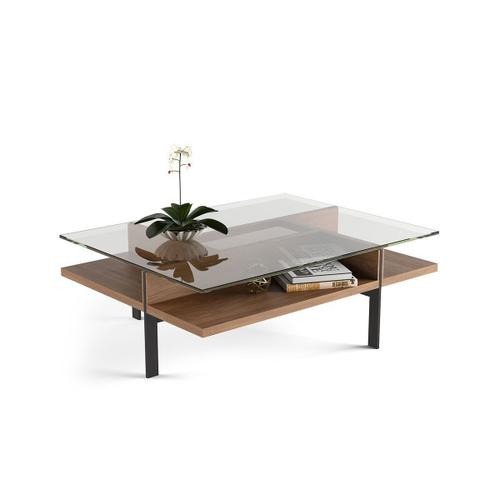 Rectangular Coffee Table 1152 in Natural Walnut