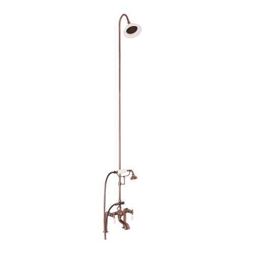 Tub/Shower Converto Unit - Elephant Spout, Riser, Showerhead - Lever / Oil Rubbed Bronze