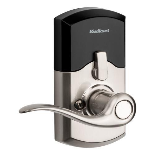 Kwikset - 917 SmartCode Electronic Tustin Lever - Satin Nickel