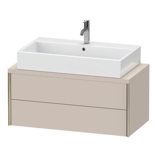 Vanity Unit For Console Compact, Taupe Matte (decor)