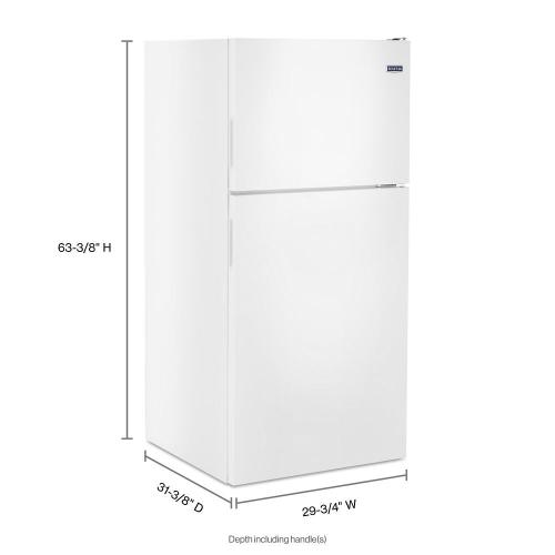 Gallery - 30-Inch Wide Top Freezer Refrigerator with PowerCold® Feature- 18 Cu. Ft.