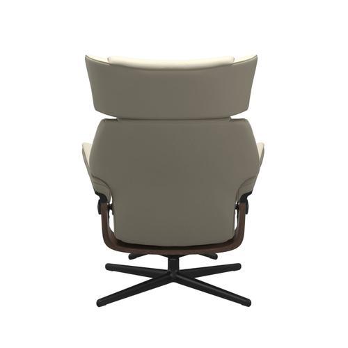 Stressless By Ekornes - Stressless® Skyline (M) Cross Chair with Ottoman