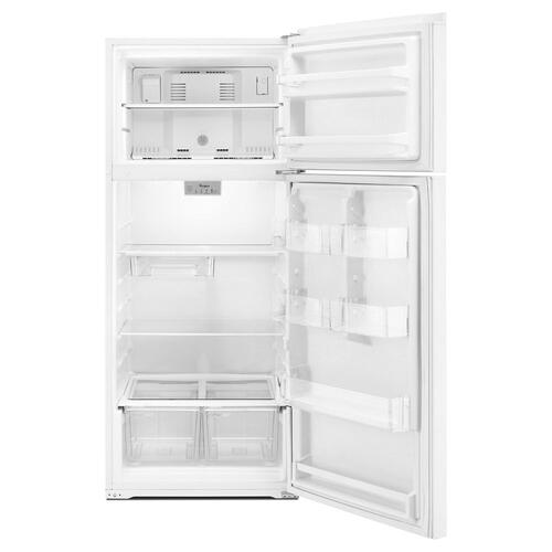Whirlpool 18CF White Top Freezer Refrigerator