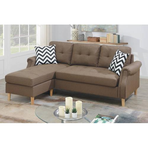 Reversible Sectional W/2 Accent Pillow