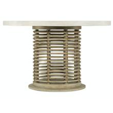Dining Room Surfrider Rattan Round Dining Table Base