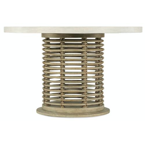 Dining Room Surfrider 48in Rattan Round Dining Table