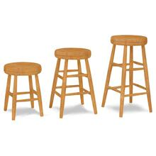 See Details - Scoop Seat Swivel Stools