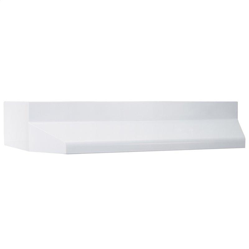 Broan® 37000 Series 30-Inch Range Hood Shell in White