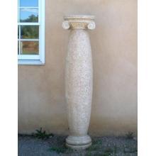 Classic Stone Columns Beige Granite / Bulge