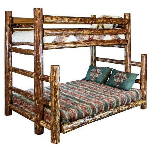 Glacier Country Collection Twin over Full Bunk Bed