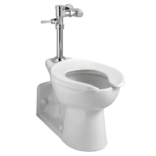 American Standard - Exposed Manual Top Spud Toilet Flush Valve - 1.6 gpf - Polished Chrome