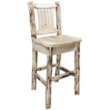 Montana Collection Barstool with Back