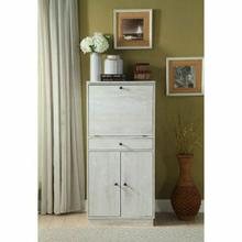 ACME Wiesta Wine Cabinet - 97545 - Antique White