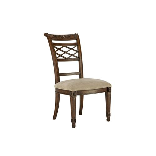Lattice Side Dining Chair
