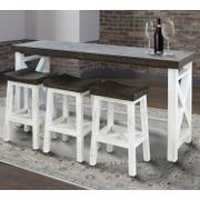 MESA Everywhere Console with 3 Stools Product Image