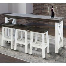 See Details - MESA Everywhere Console with 3 Stools