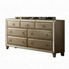 ACME Voeville Dresser - 21005 - Antique Silver