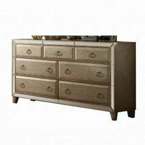 ACME Voeville Dresser - 21005 - Antique Silver