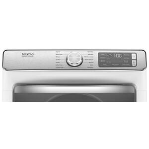Maytag - Smart Front Load Electric Dryer with Extra Power and Advanced Moisture Sensing with industry-exclusive extra moisture sensor - 7.3 cu. ft.