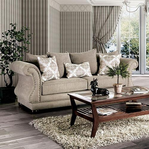 Furniture of America - Sofa Nelson