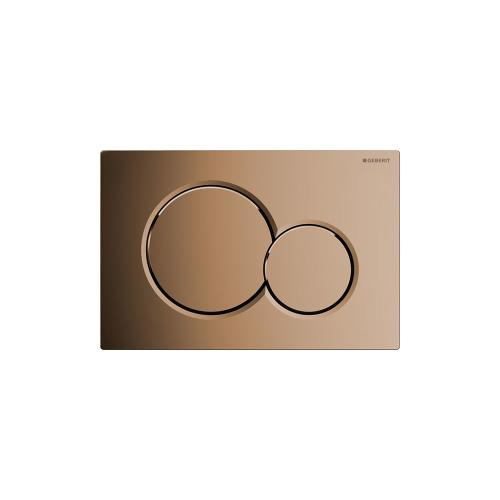 Sigma01 Dual-flush plates for Sigma series in-wall toilet systems Brass galvanized NEW! Finish